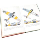 Stapel boeken thema vliegtuigen_