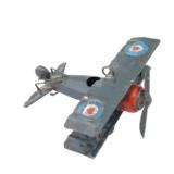 Vliegtuig blauw klein_