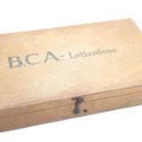 Oude BCA letterdoos_