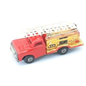 Brandweerauto blik