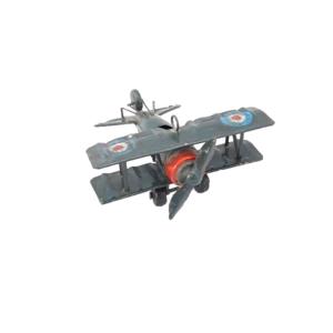 Vliegtuig blauw klein