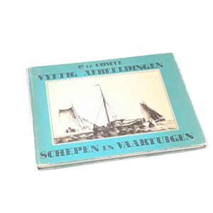 Vintageboek schepen en vaartuigen