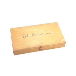 Oude BCA letterdoos