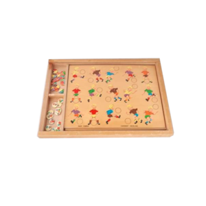 Vintage houten spel