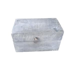 klein houten kistje